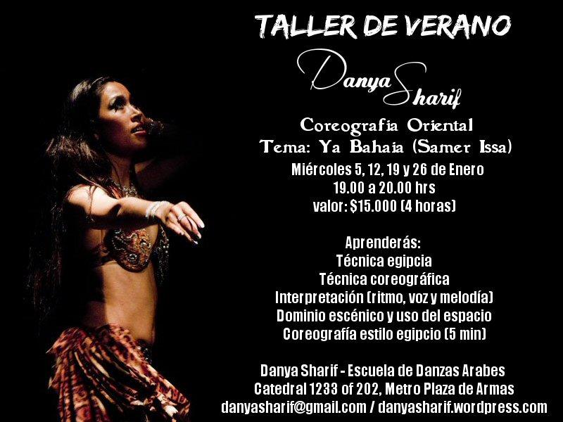Clases y Seminarios   Danya Sharif - Escuela de Danzas Arabes   Página 3